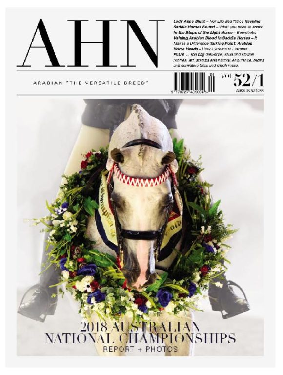 Australian Arabian Horse News – April 2018