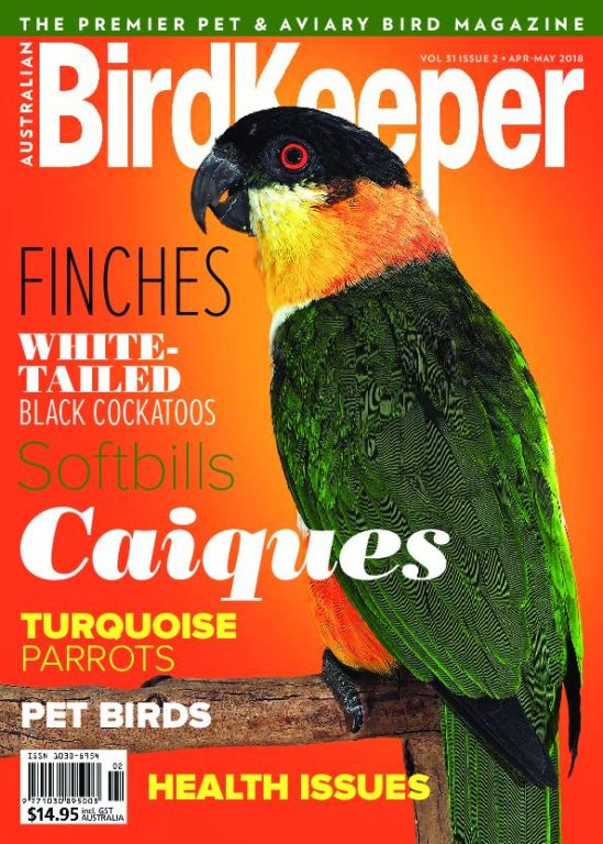Australian Birdkeeper – April-May 2018