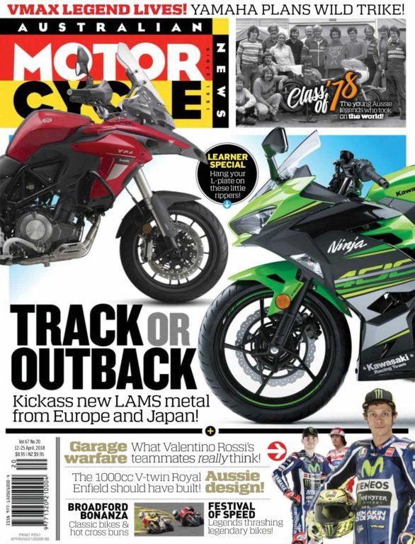 Australian Motorcycle News – April 12, 2018