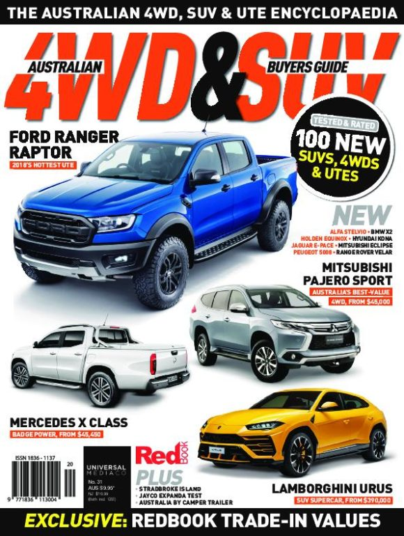 Australian 4WD & SUV Buyer's Guide – May 2018