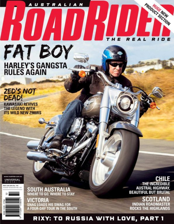 Australian Road Rider – May 01, 2018