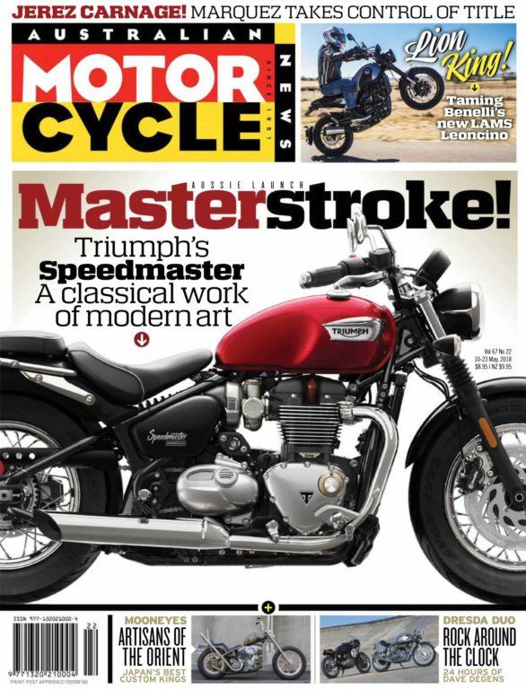 Australian Motorcycle News – May 10, 2018