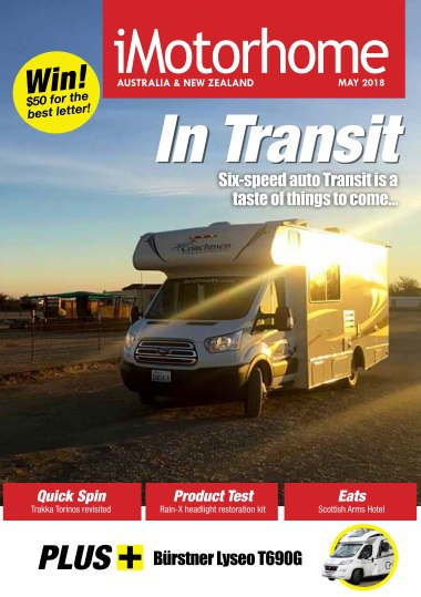 Imotorhome Australia – May 2018