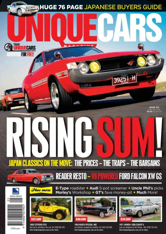 Unique Cars Australia – May 2018