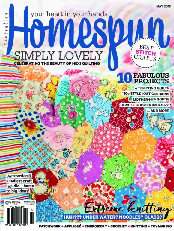 Australian Homespun – May 2018