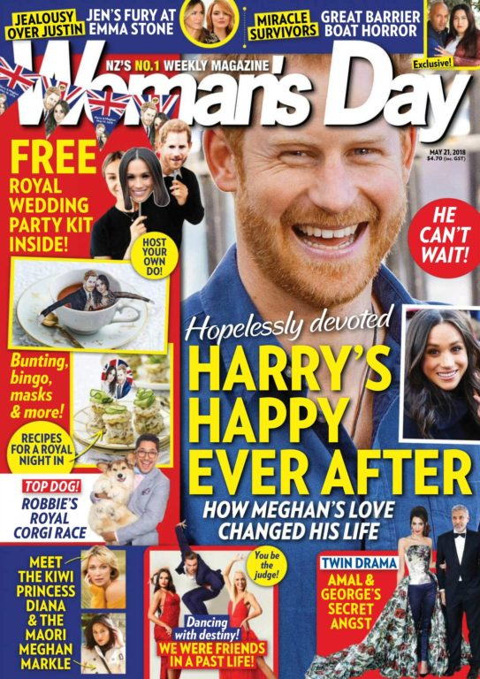 Woman's Day New Zealand – May 21, 2018