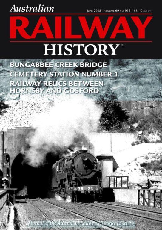 Australian Railway History – June 2018