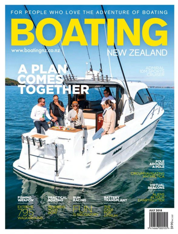 Boating New Zealand – July 2018
