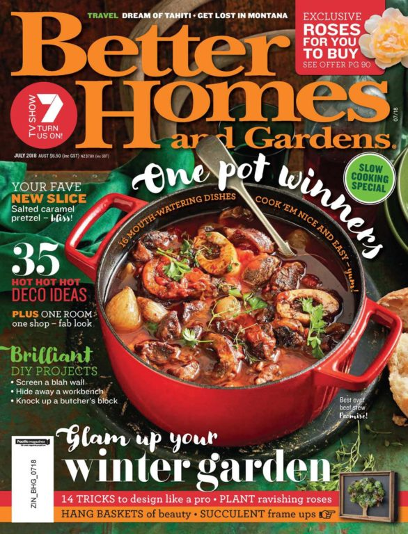 Better Homes And Gardens Australia – July 2018