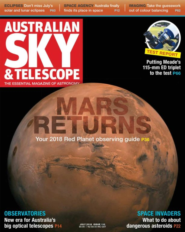Australian Sky & Telescope – June 2018