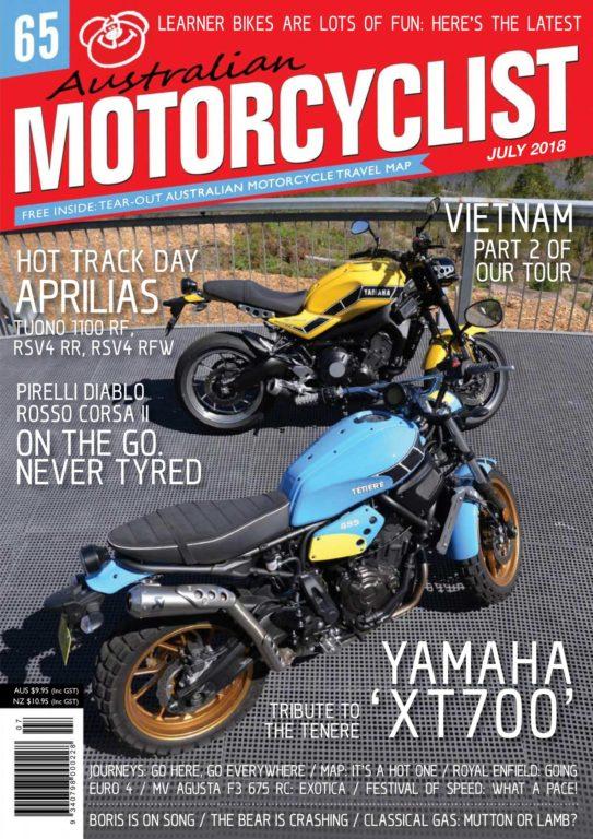 Australian Motorcyclist – July 2018