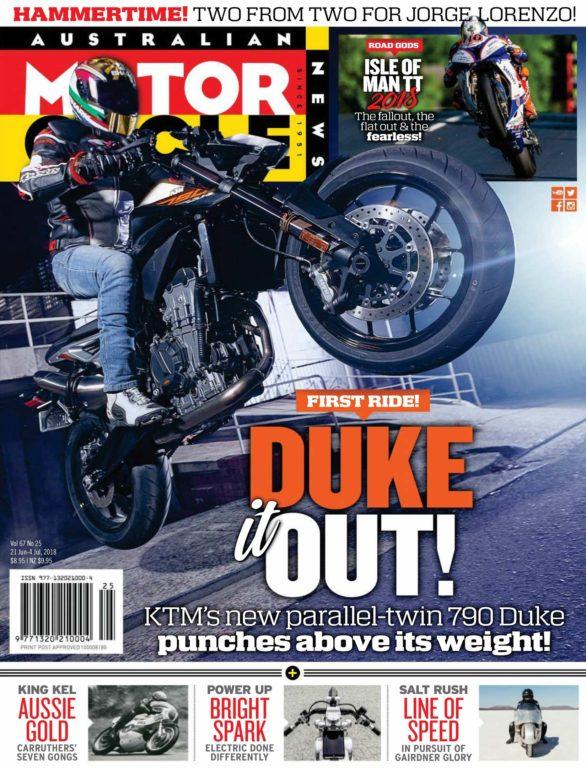 Australian Motorcycle News – June 21, 2018