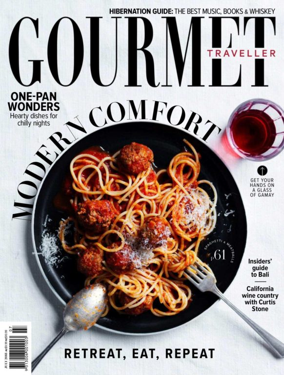 Australian Gourmet Traveller – July 2018