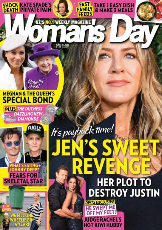 Woman's Day New Zealand – June 18, 2018