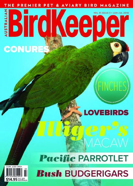 Australian Birdkeeper – June-July 2018