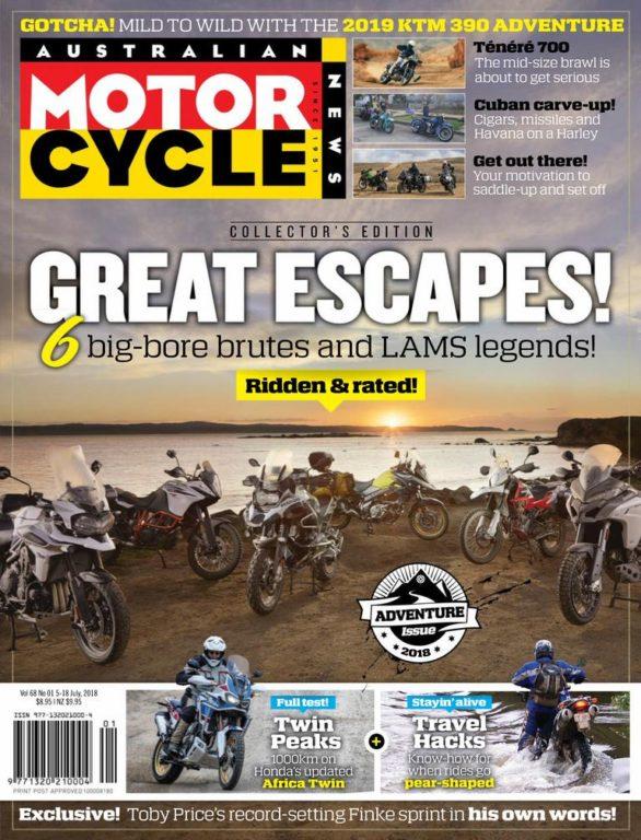 Australian Motorcycle News – July 05, 2018