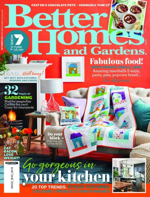 Better Homes And Gardens Australia – September 2018