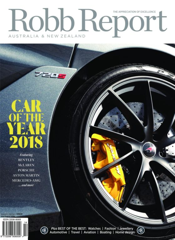 Robb Report Australia – July 2018