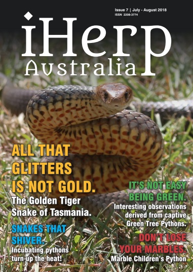 IHerp Australia – July-August 2018
