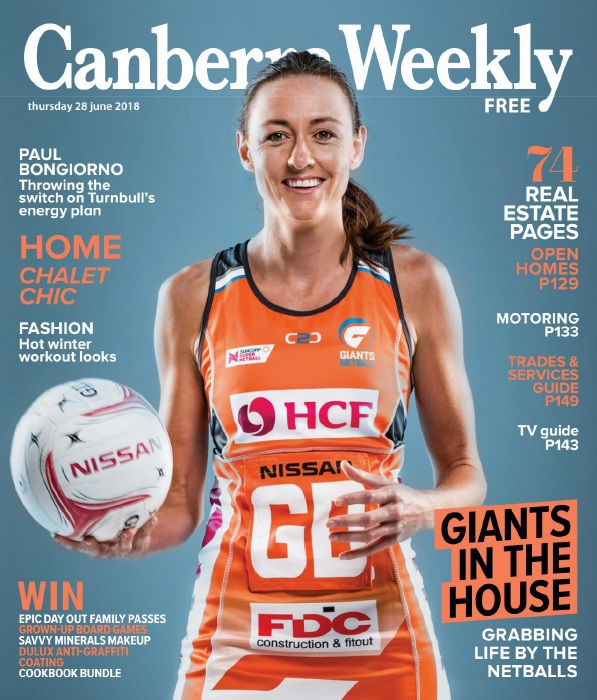 Canberra Weekly – 28 June 2018