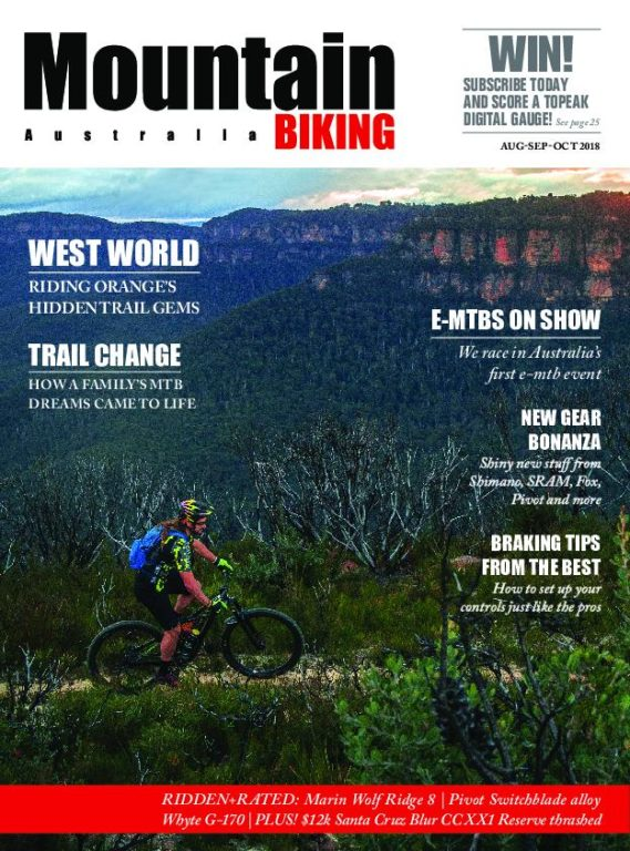 Mountain Biking Australia – August 2018