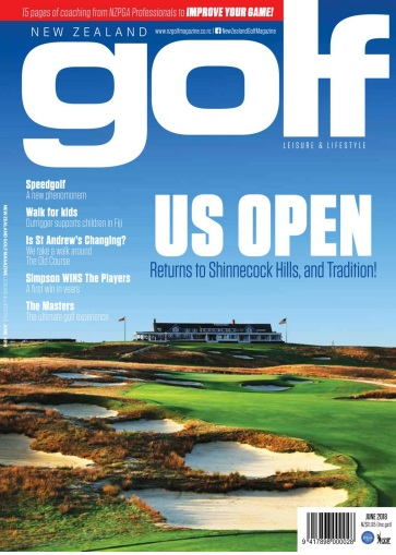 New Zealand Golf Magazine – June 2018