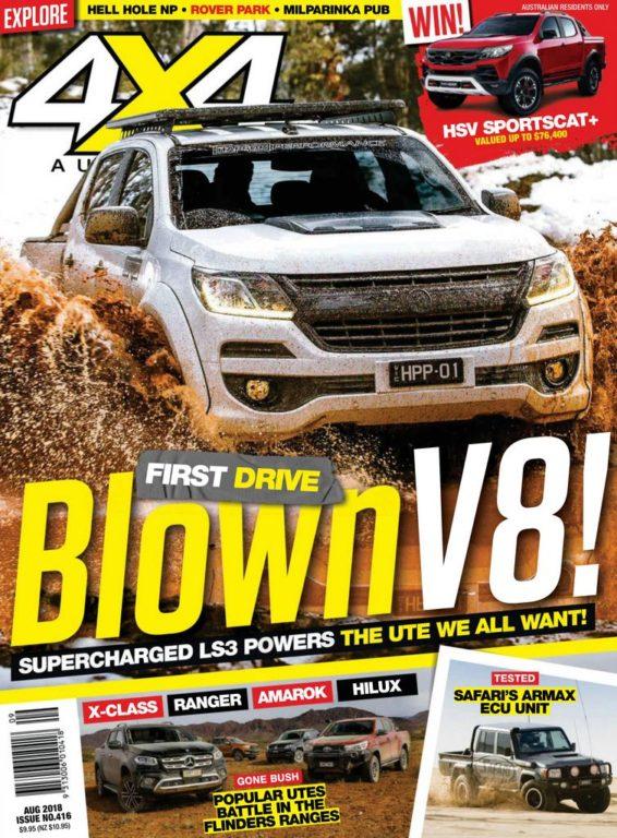 4×4 Magazine Australia – August 2018