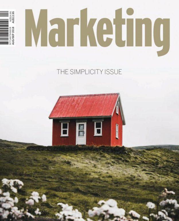 Marketing Australia – August-September 2018