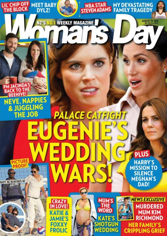 Woman's Day New Zealand – August 13, 2018
