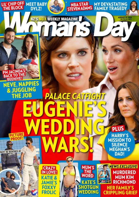 Woman's Day New Zealand – August 14, 2018