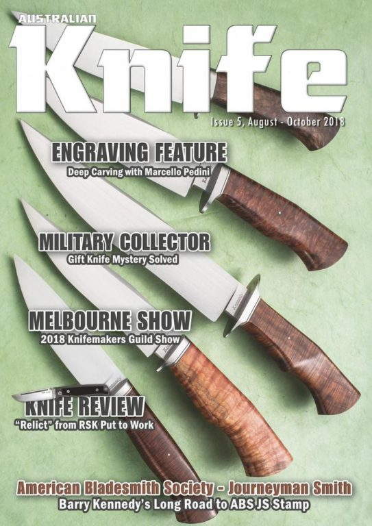 Australian Knife – August 2018