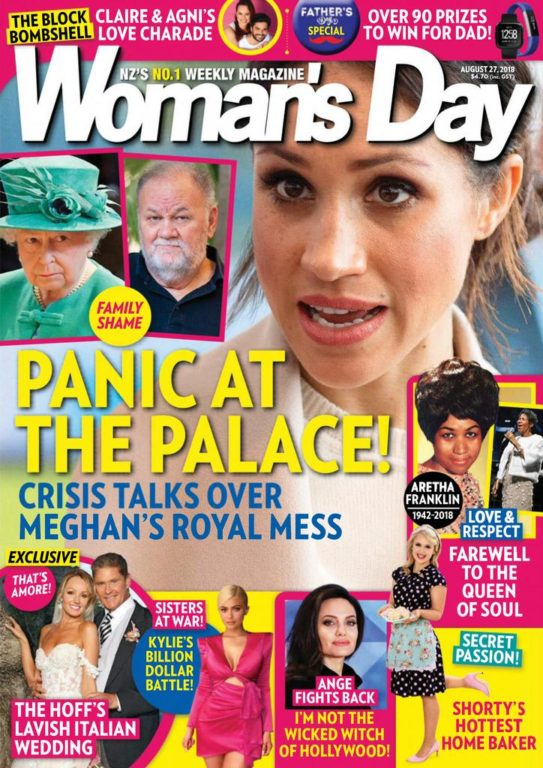 Woman's Day New Zealand – August 27, 2018