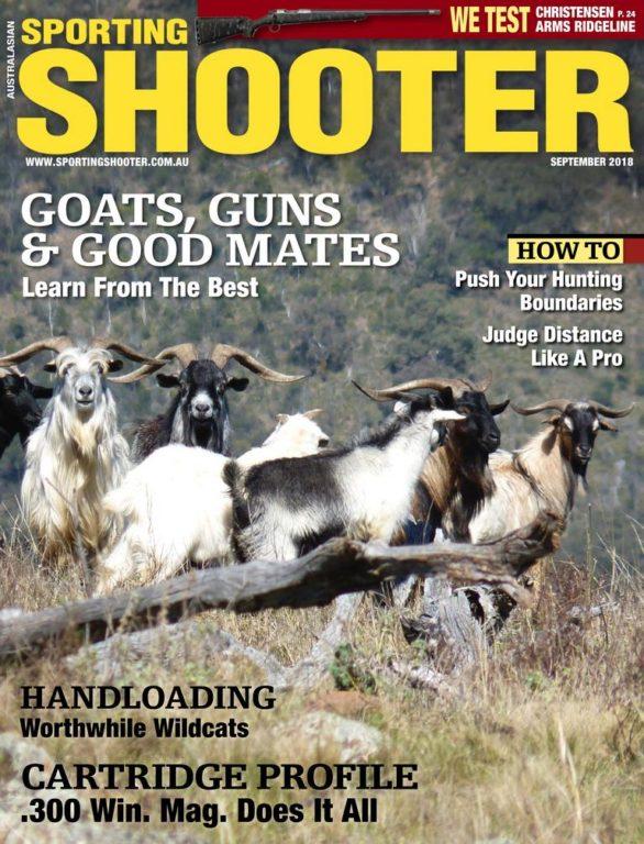 Sporting Shooter Australia – September 2018