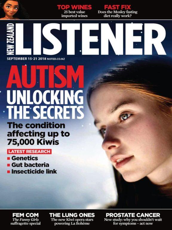 New Zealand Listener – September 15, 2018