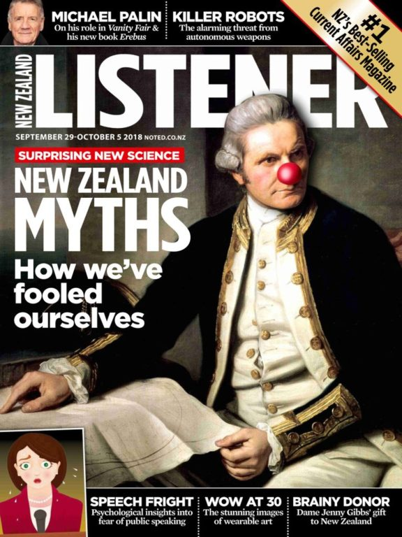 New Zealand Listener – September 29, 2018