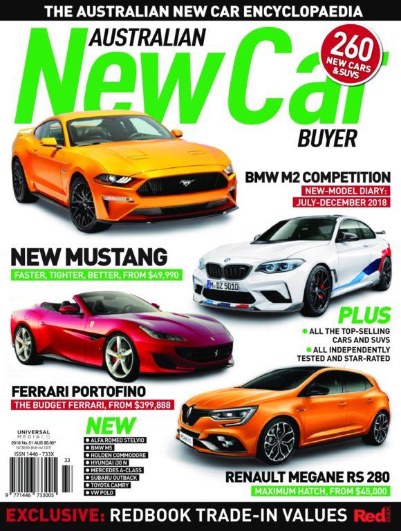 Australian New Car Buyer – August 2018