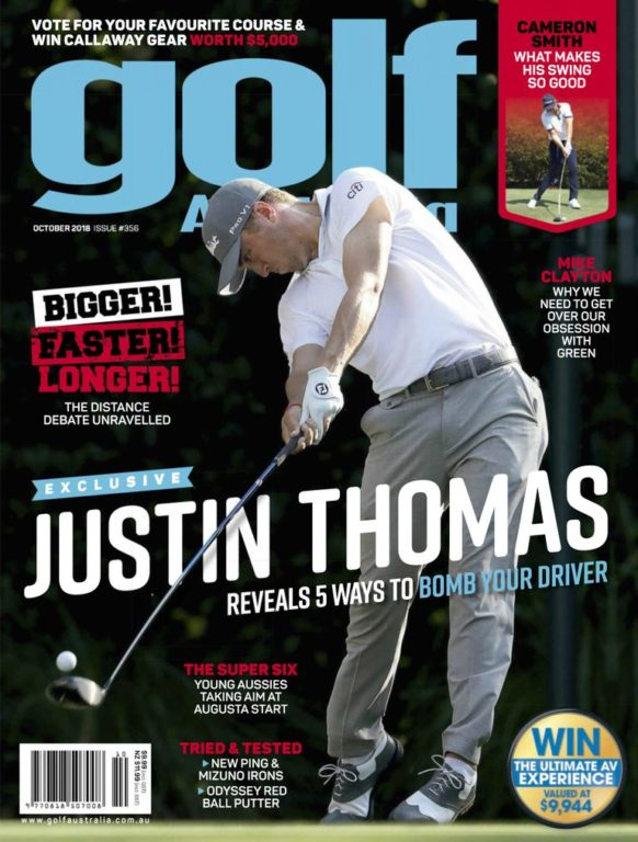 Golf Australia – October 2018