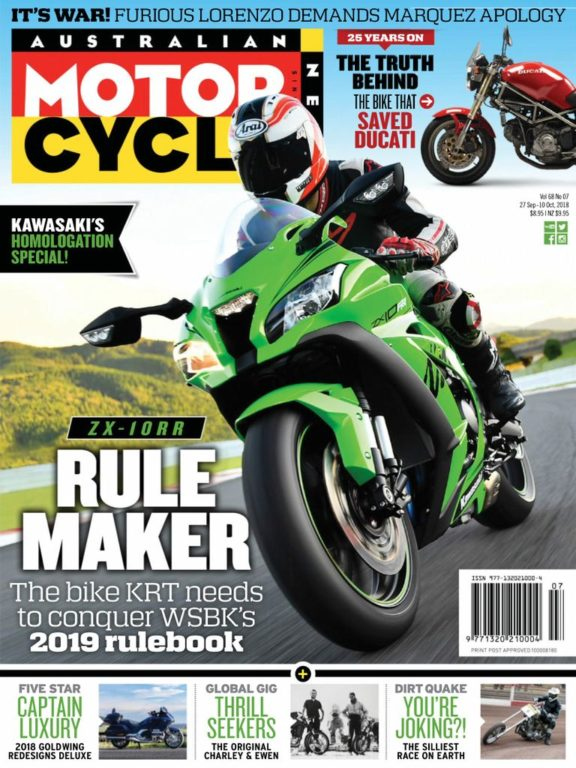 Australian Motorcycle News – September 27, 2018
