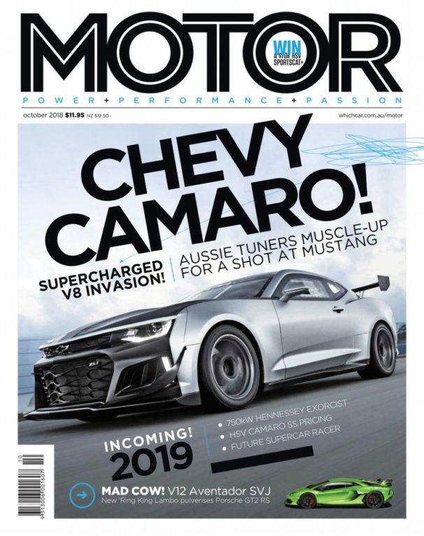Motor Australia – October 2018