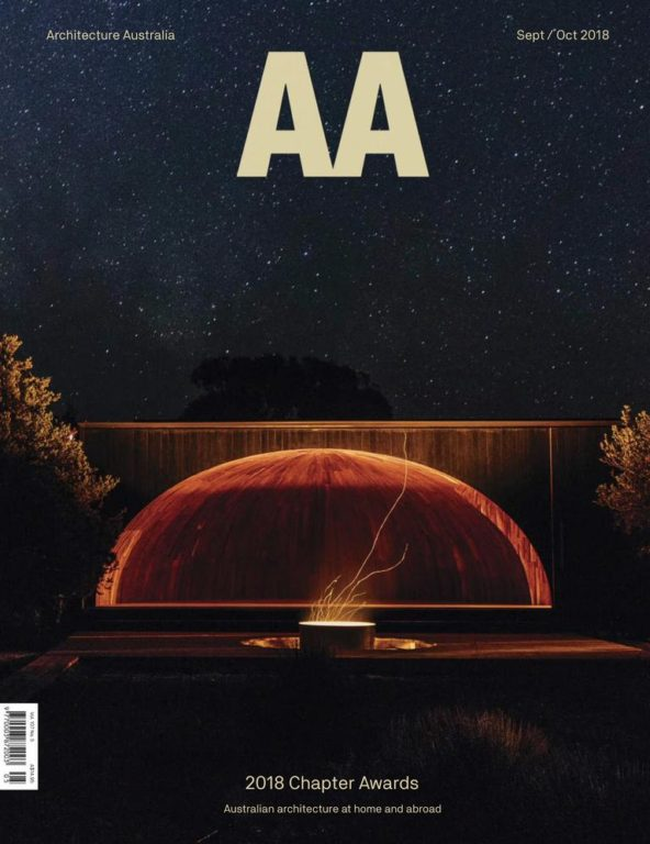 Architecture Australia – September-October 2018