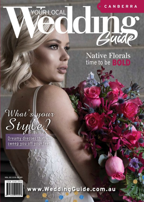 Your Local Wedding Guide Canberra – Volume 22 2018