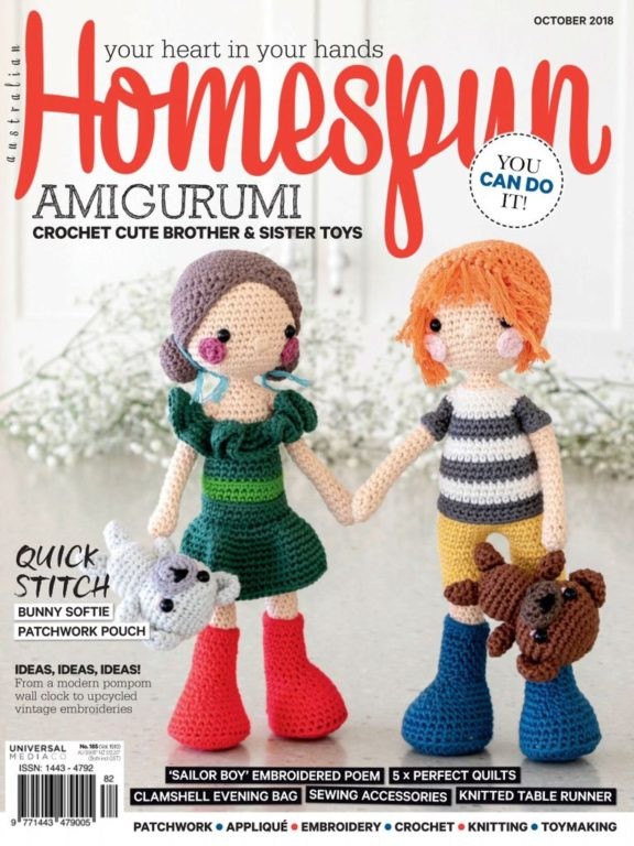 Australian Homespun – October 2018