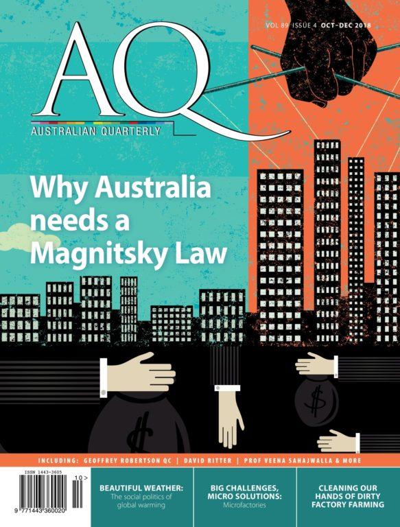 AQ Australian Quarterly – September 2018